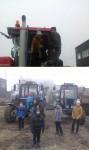 Экскурсия на машинно-тракторный двор ООО