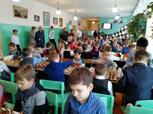 Командное первенство округа «Шахматный всеобуч»
