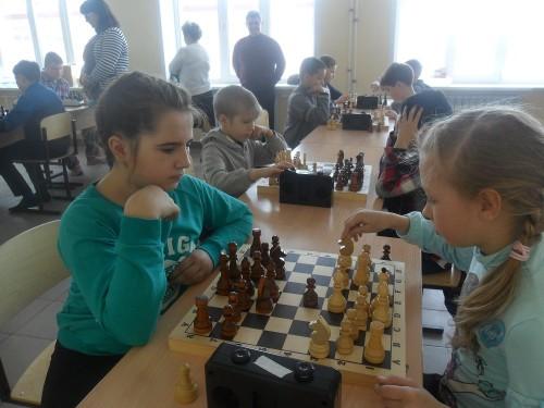 Шахматный турнир в Курумоче